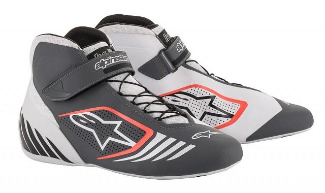 Ботинки для картинга TECH 1 KX,белый/серый/красный,42,5 (9,5)