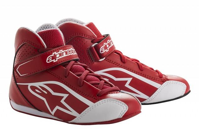 Ботинки для картинга детские TECH 1 KS,красный/белый,30