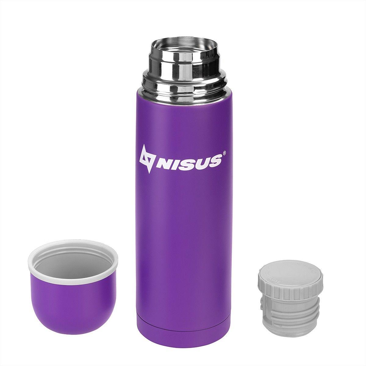 Термос N.TM-044-V 750ML фиолетовый от Nisus