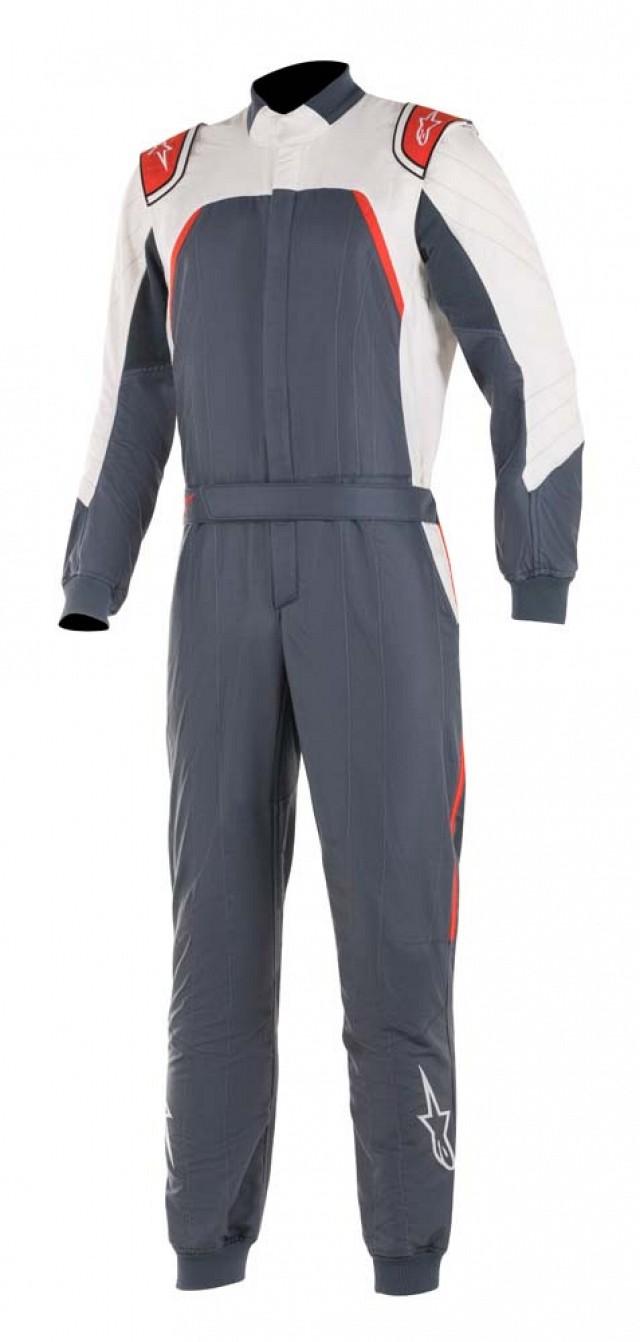 Комбинезон для автоспорта GP PRO COMP,FIA,серый/белый/красный,52 Alpinestars