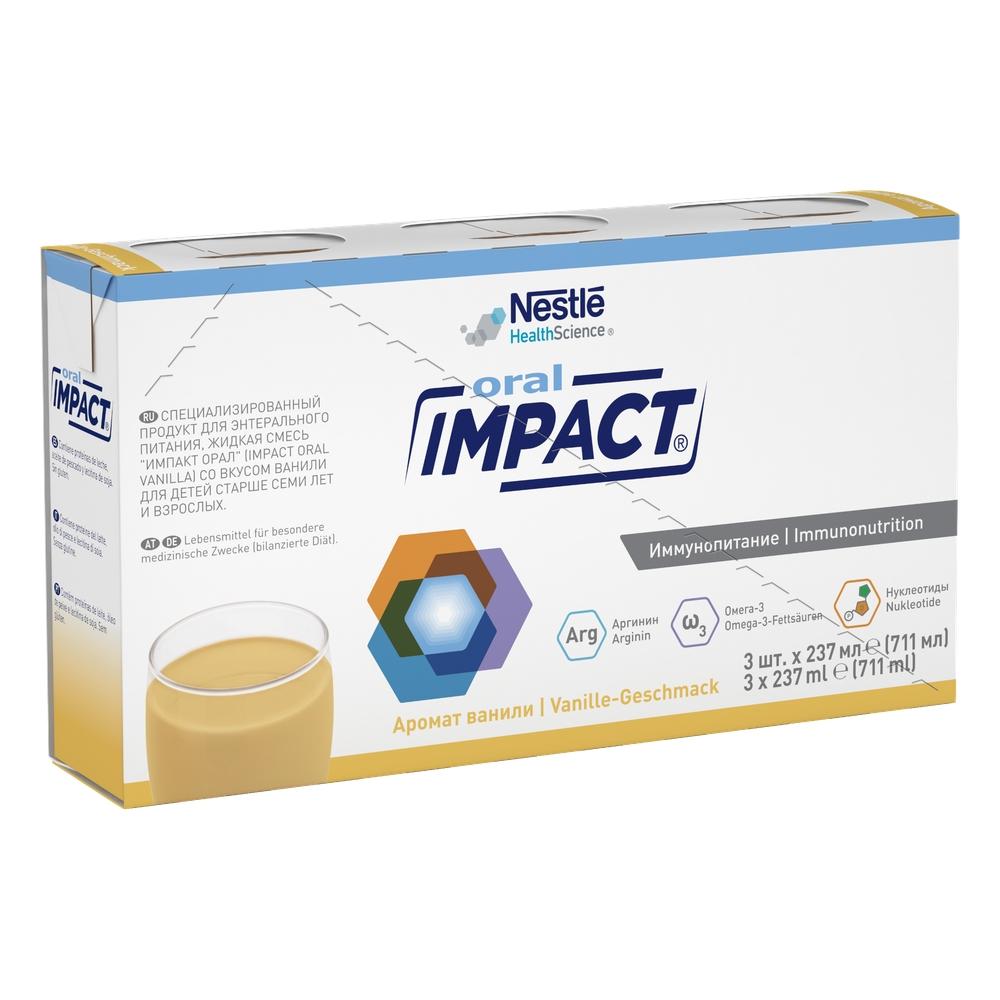 Смесь жидкая Impact® Oral с ароматом ванили