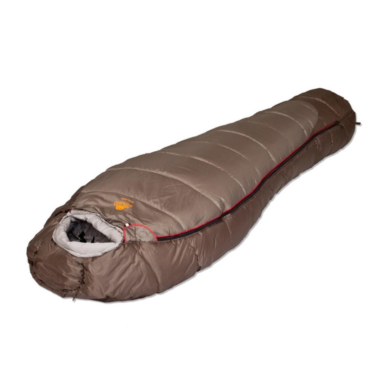 Спальный мешок Alexika Iceland коричневый, правый