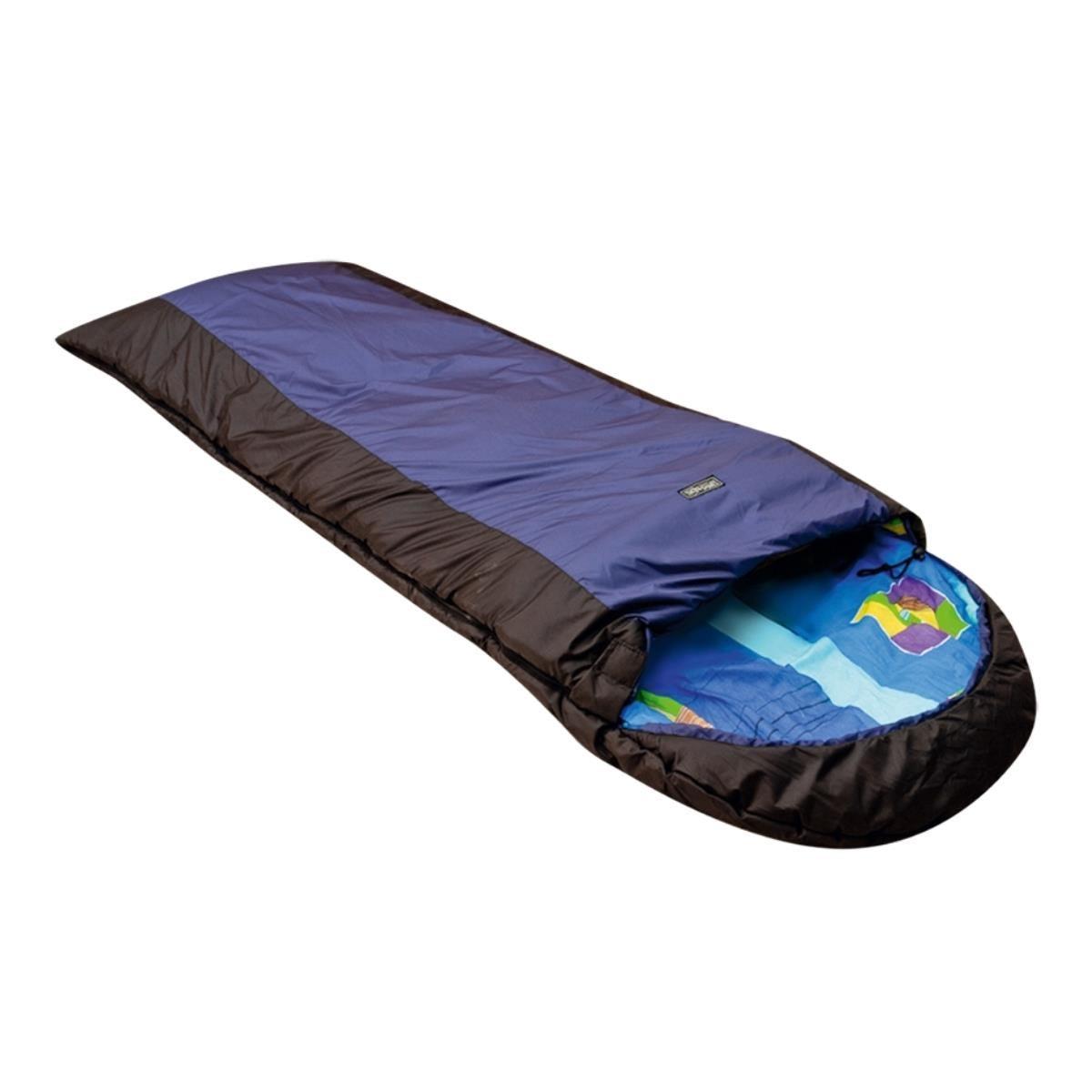 Спальный мешок Хольстер Антилопа Макси синий/черный, правый