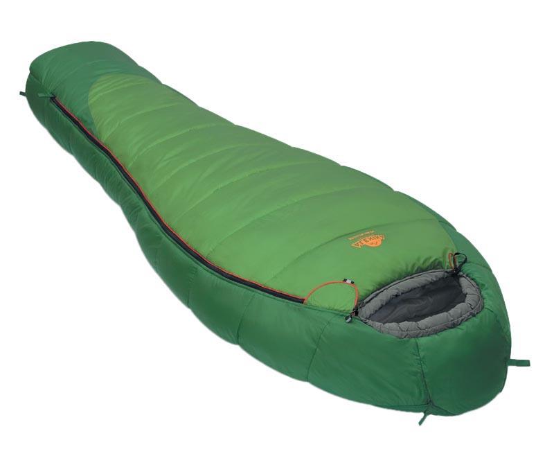 Спальный мешок Alexika Mountain зеленый, левый
