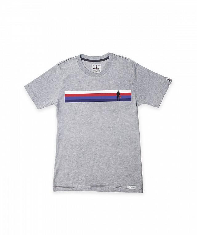 Футболка Crew Neck Short Sleeves Stripe