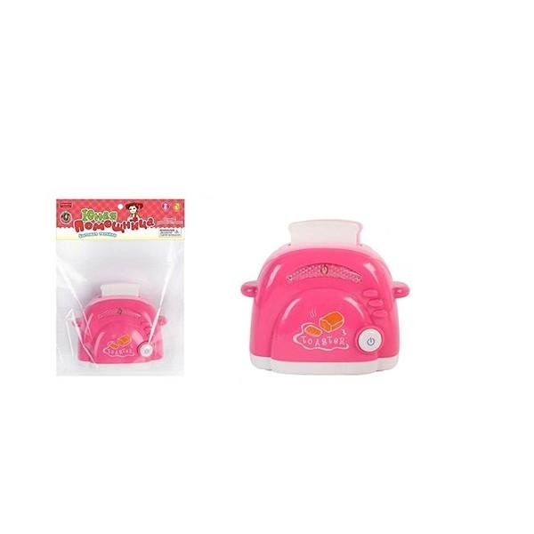 Купить Игрушка пластмассовая Тостер, свет, звук, Zhorya, Детская кухня