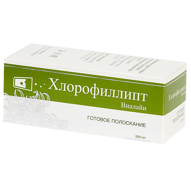 Хлорофиллипт Виалайн р р д/полоскания рта фл.200мл