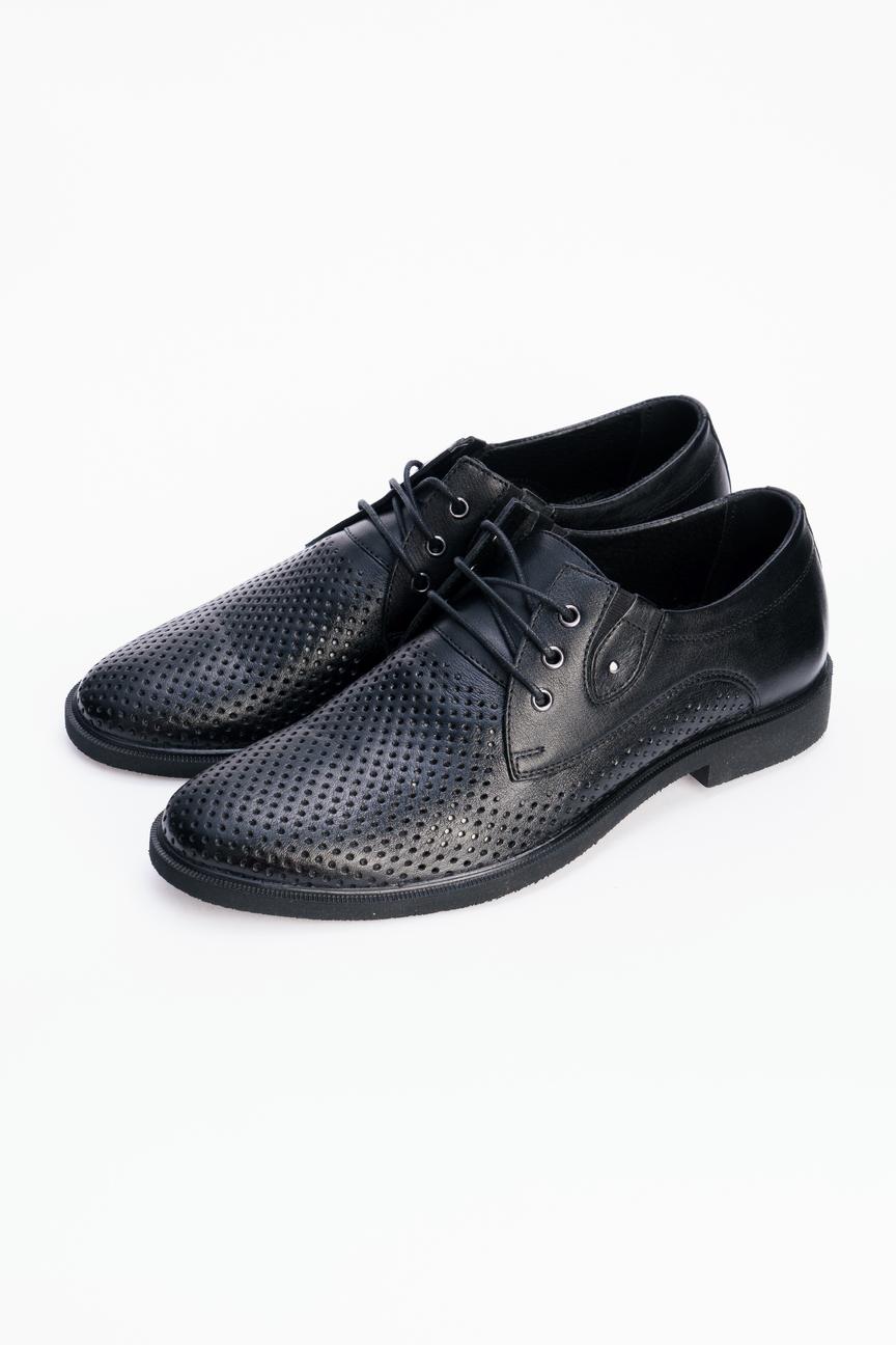 Туфли мужские Tervolina 57764-3 черные 40 RU