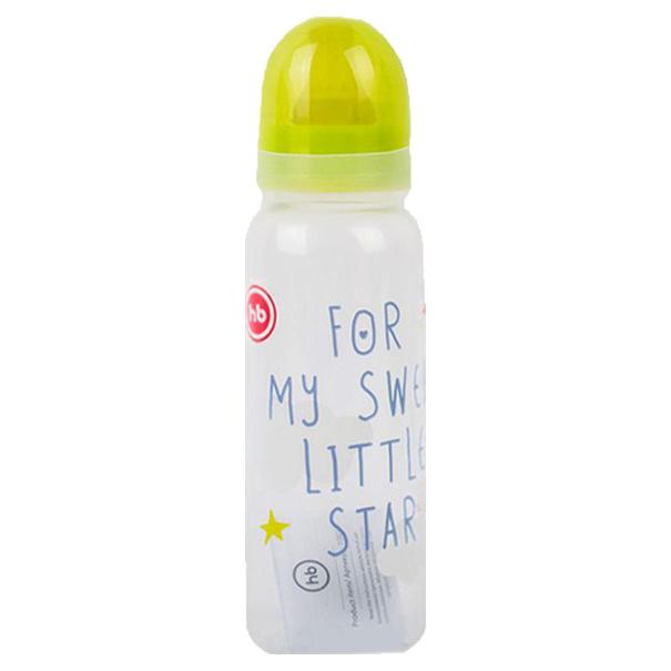 Бутылочка HAPPY BABY латексная соска 0+, 250 мл,