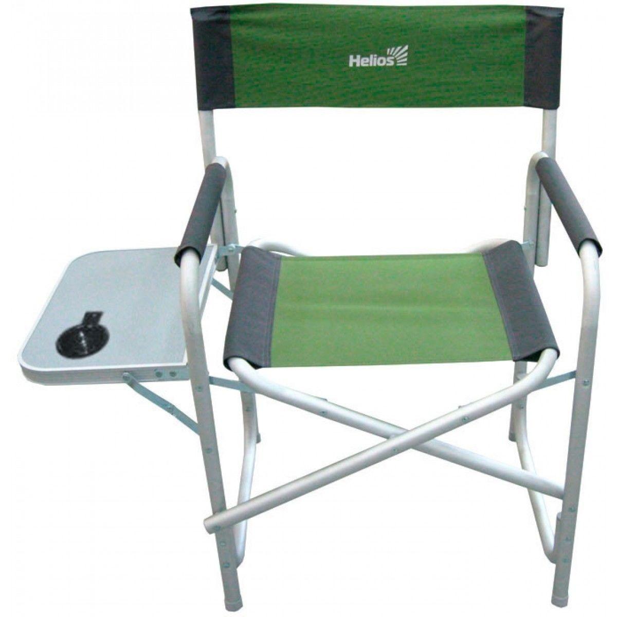 Кресло директорское с отк.стол. серый/зеленый (Т-HS-DC-95200T-GG) Helios (пр-во ГК Тонар)