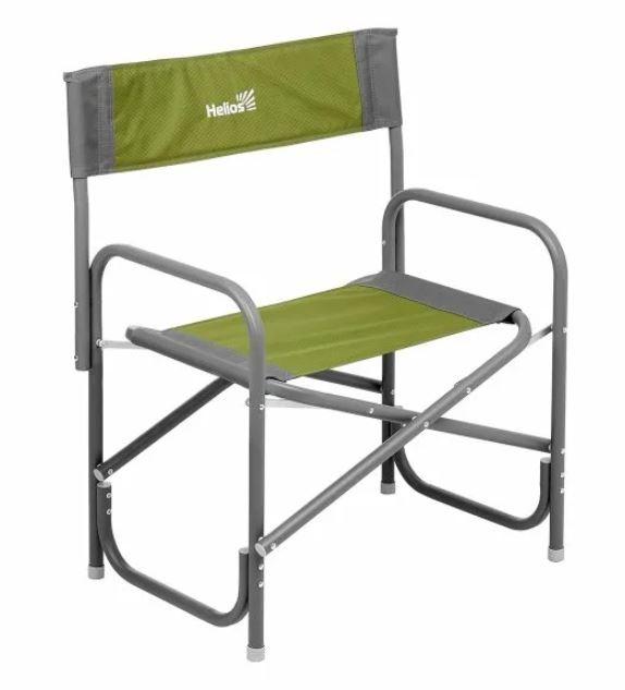 Кресло директорское MAXI серый/зеленый (Т-HS-DC-95200-M-GG) Helios (пр-во ГК Тонар)