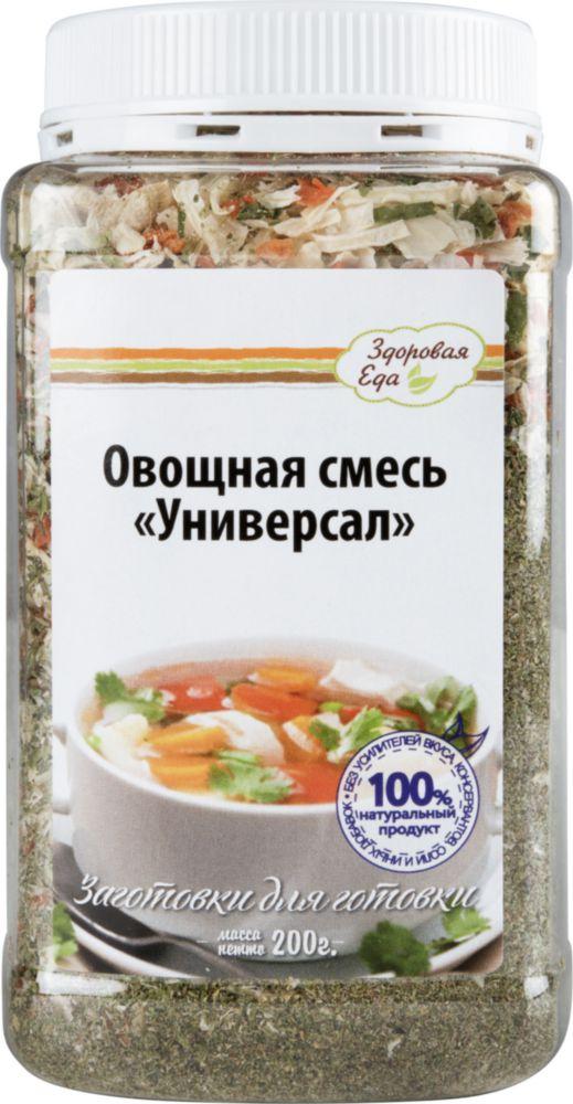 Овощная смесь Здоровая еда сушеная универсал 200 г фото