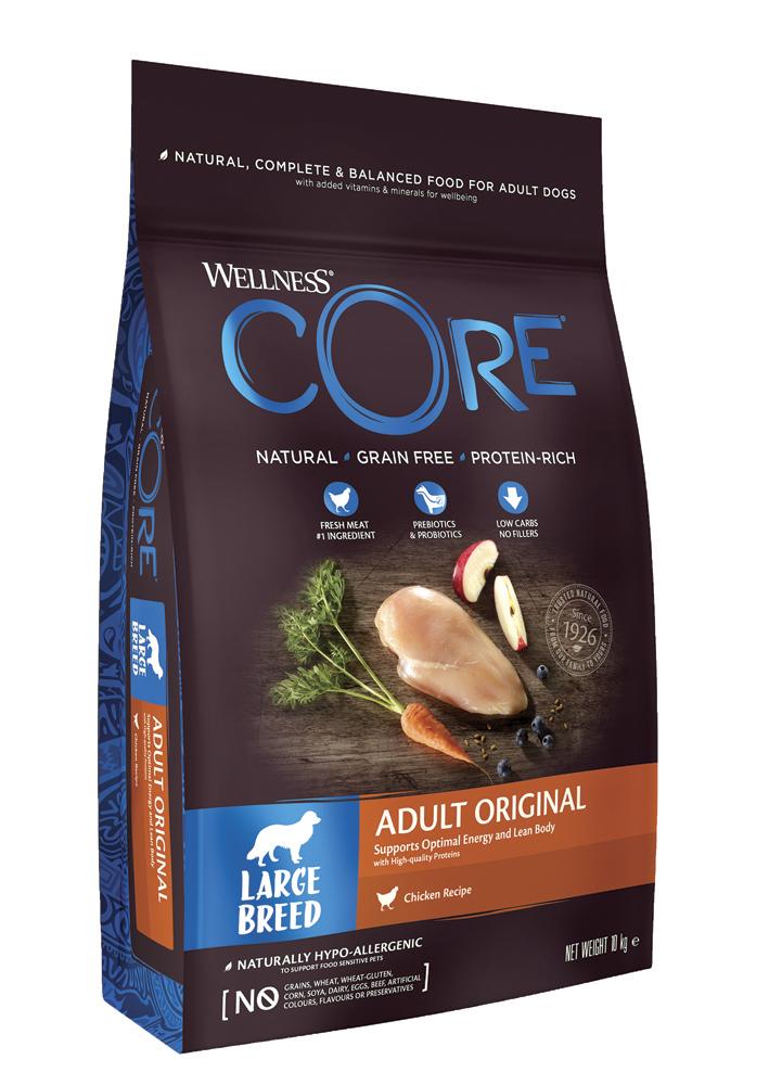 Сухой корм Wellness CORE Курица для собак крупных пород 10 кг