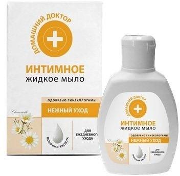 Жидкое мыло Интимное Домашний Доктор Нежный уход