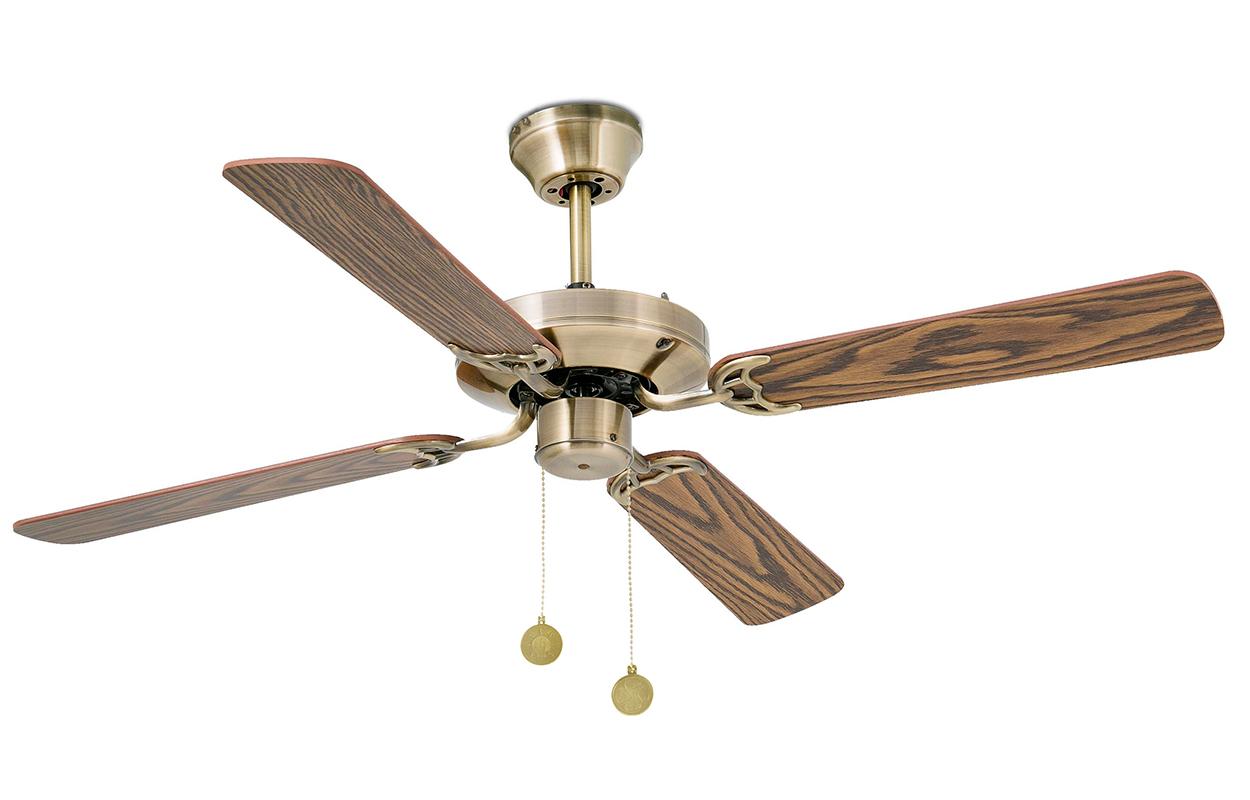 Потолочный вентилятор Faro Barcelona Yakarta Old Gold