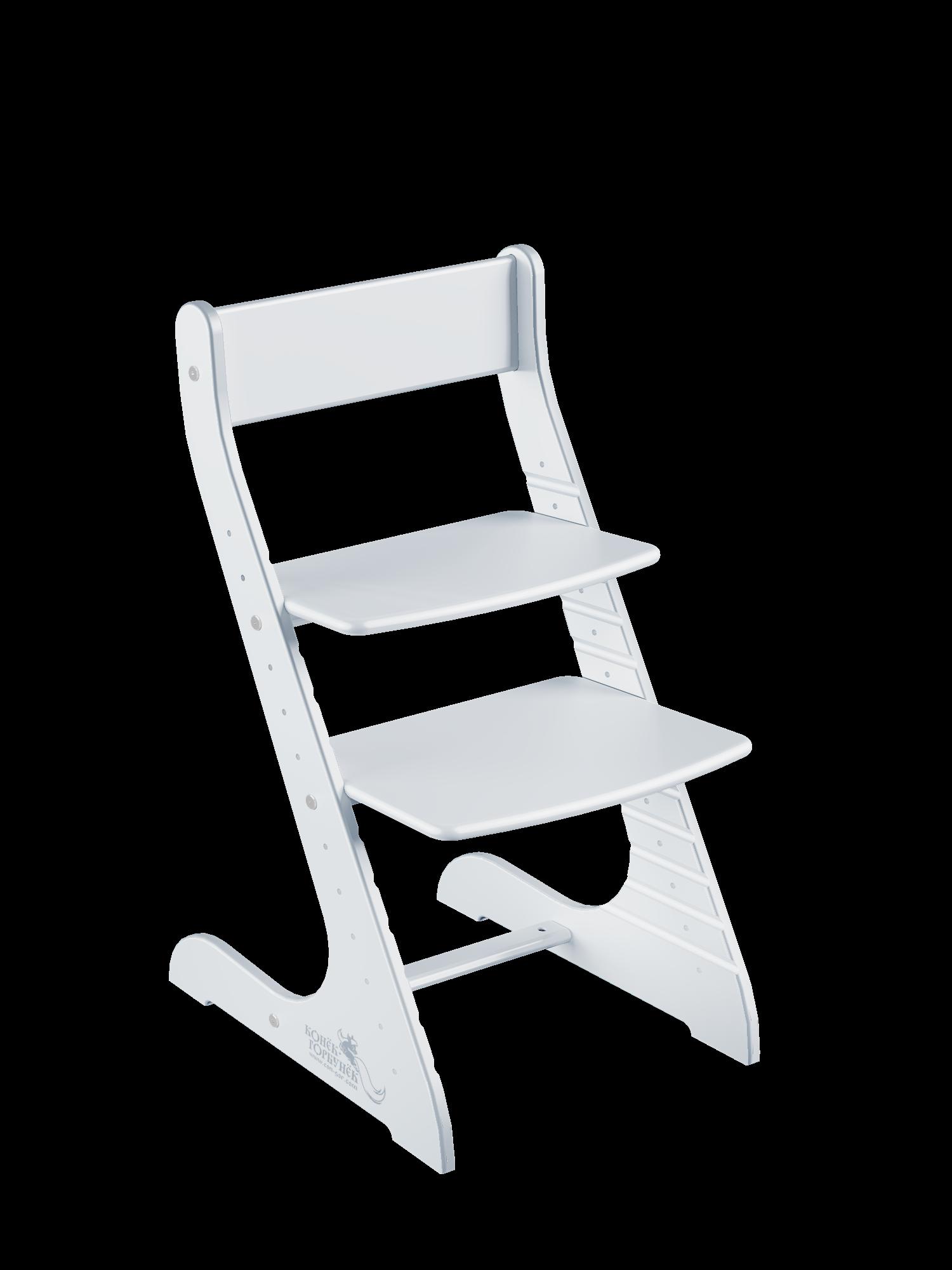 Купить Детский растущий стул Конёк Горбунёк Стандарт, цвет Белый, Конек Горбунек,