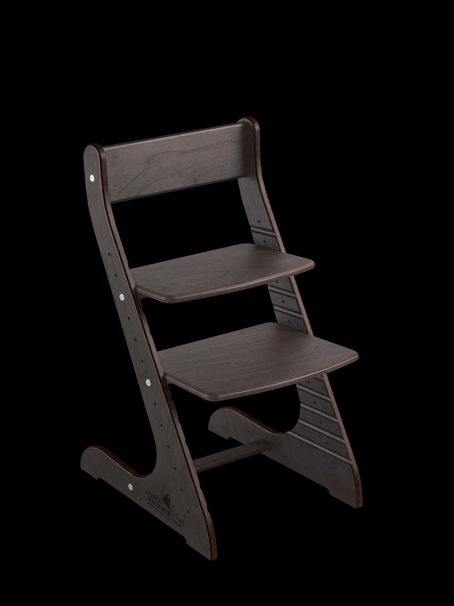 Детский растущий стул Конёк Горбунёк Стандарт, цвет Венге, Конек Горбунек,  - купить со скидкой