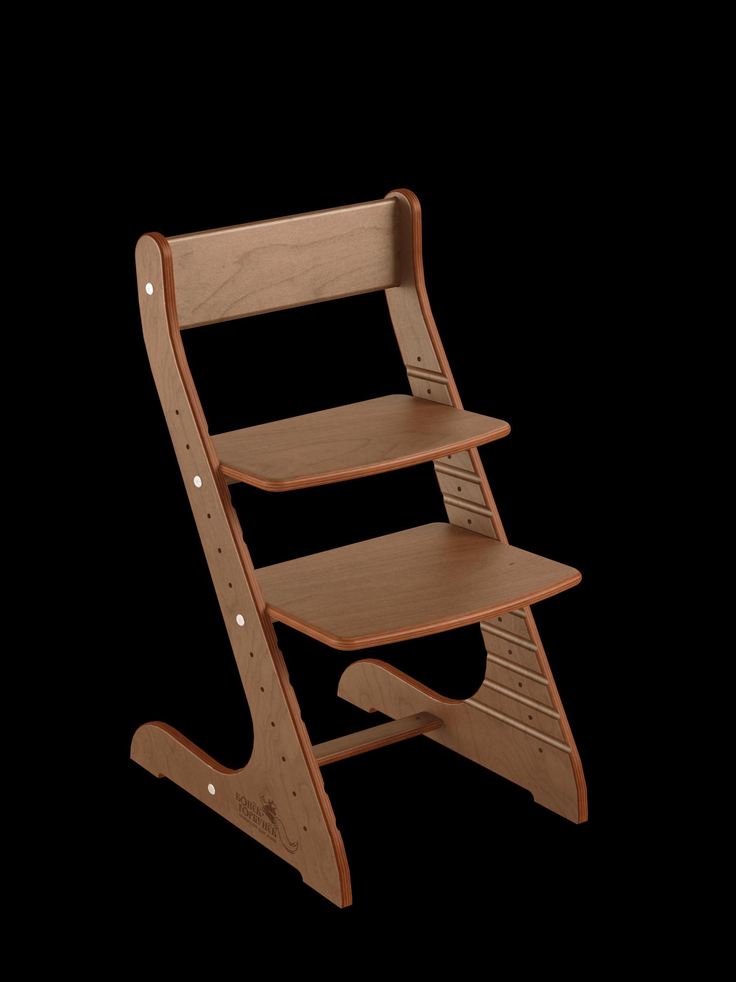 Купить Детский растущий стул Конёк Горбунёк Стандарт, цвет Орех, Конек Горбунек,