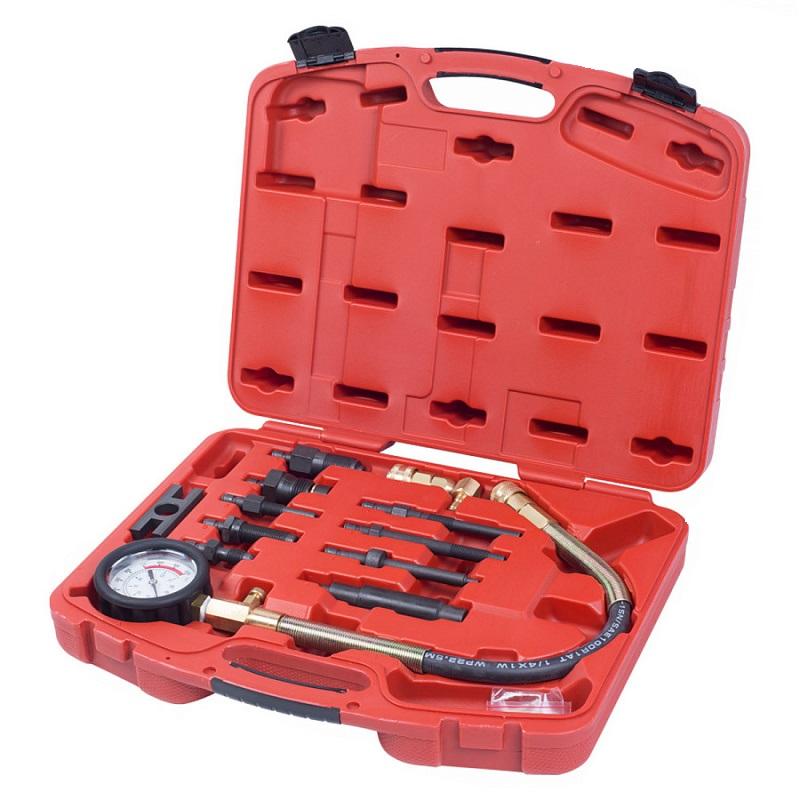 МАСТАК Компрессометр дизельный, 0 70 атм, комплект