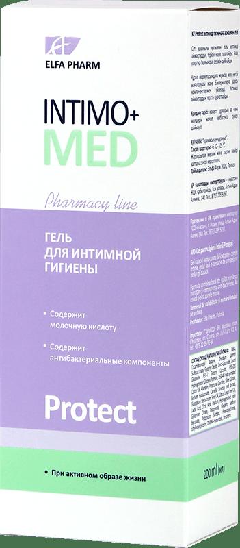 Гель для интимной гигиены Intimo+Med Protect
