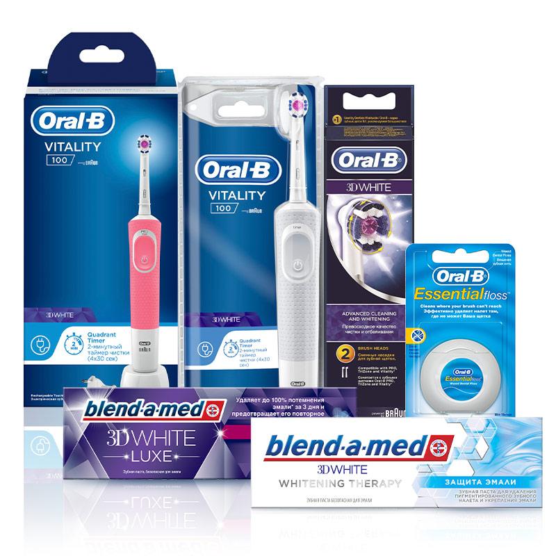 Электрическая зубная щетка Braun Oral B (для