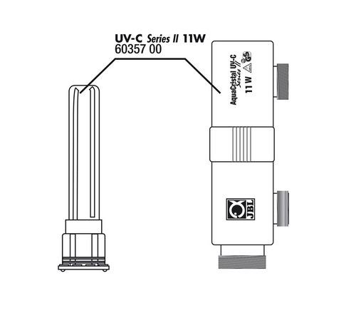 Корпус стерилизатора JBL AquaCristal UV C