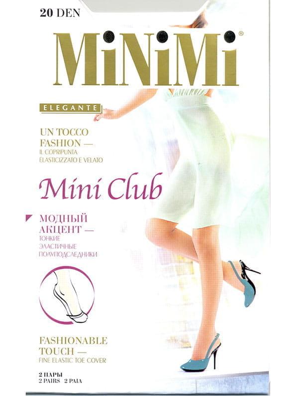 Капроновые подследники женские MiNiMi MINI CLUB 20 прозрачные унив.