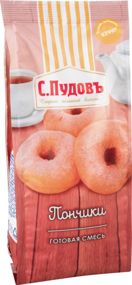 Смесь для выпечки С.Пудовъ пончики 400 г фото