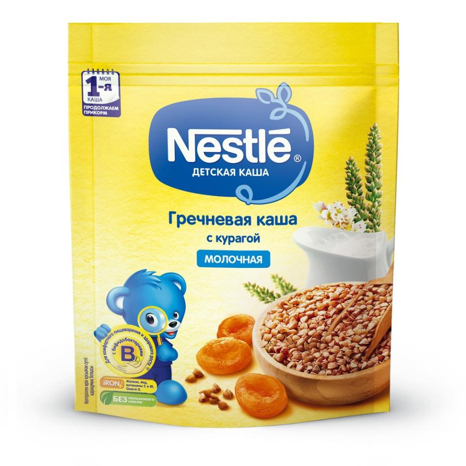 Каша молочная Nestle Гречневая с курагой с 6 мес. 220 г