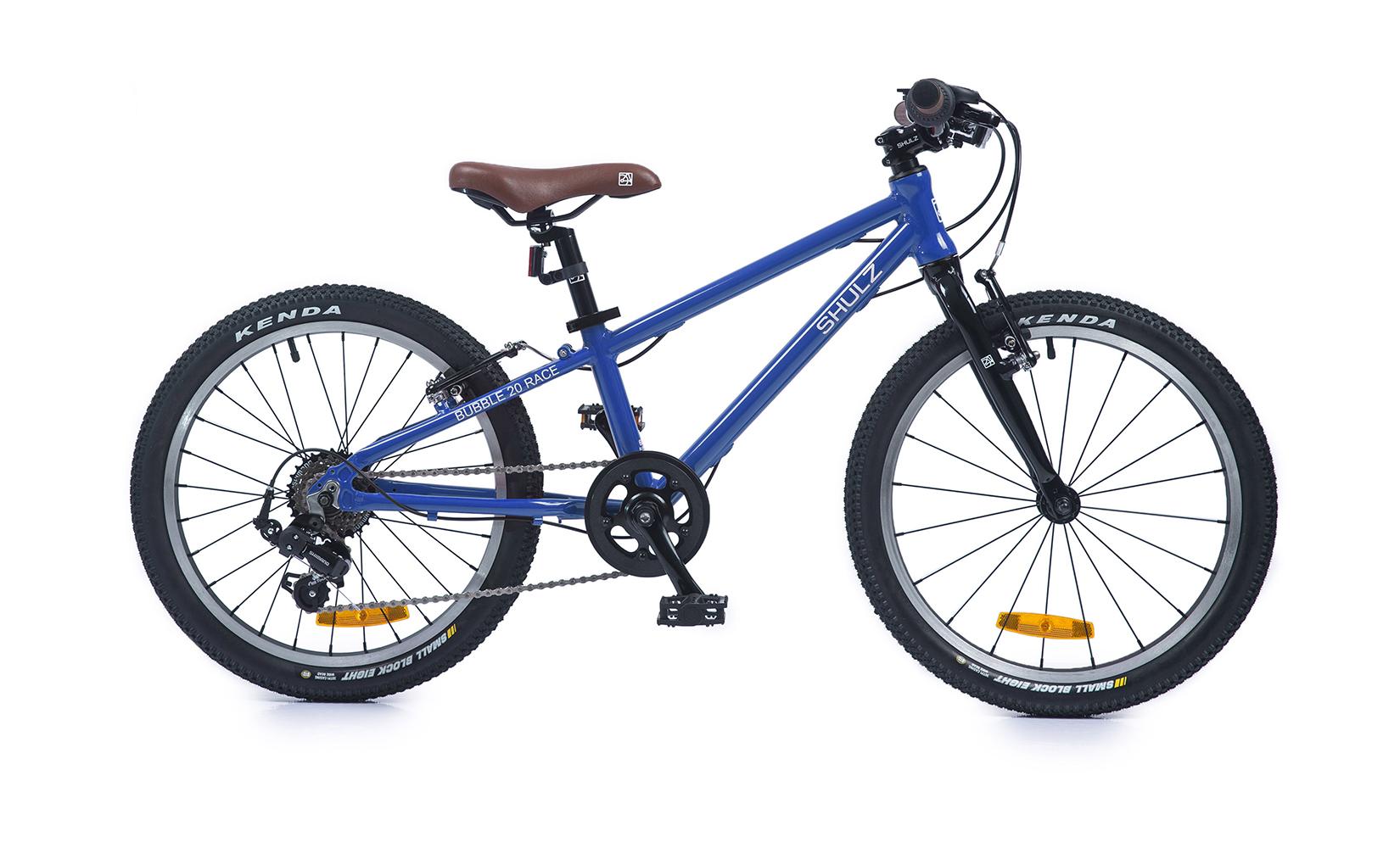 Купить Bubble 20 Race (2020) (One size), Детский велосипед Shulz Bubble 20 Race 2020 синий, Детские двухколесные велосипеды
