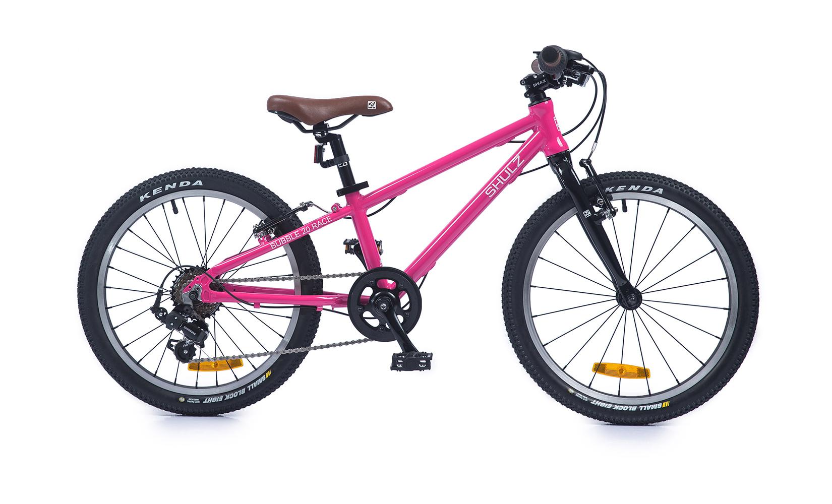 Купить Bubble 20 Race (2020) (One size), Детский велосипед Shulz Bubble 20 Race 2020 розовый, Детские двухколесные велосипеды