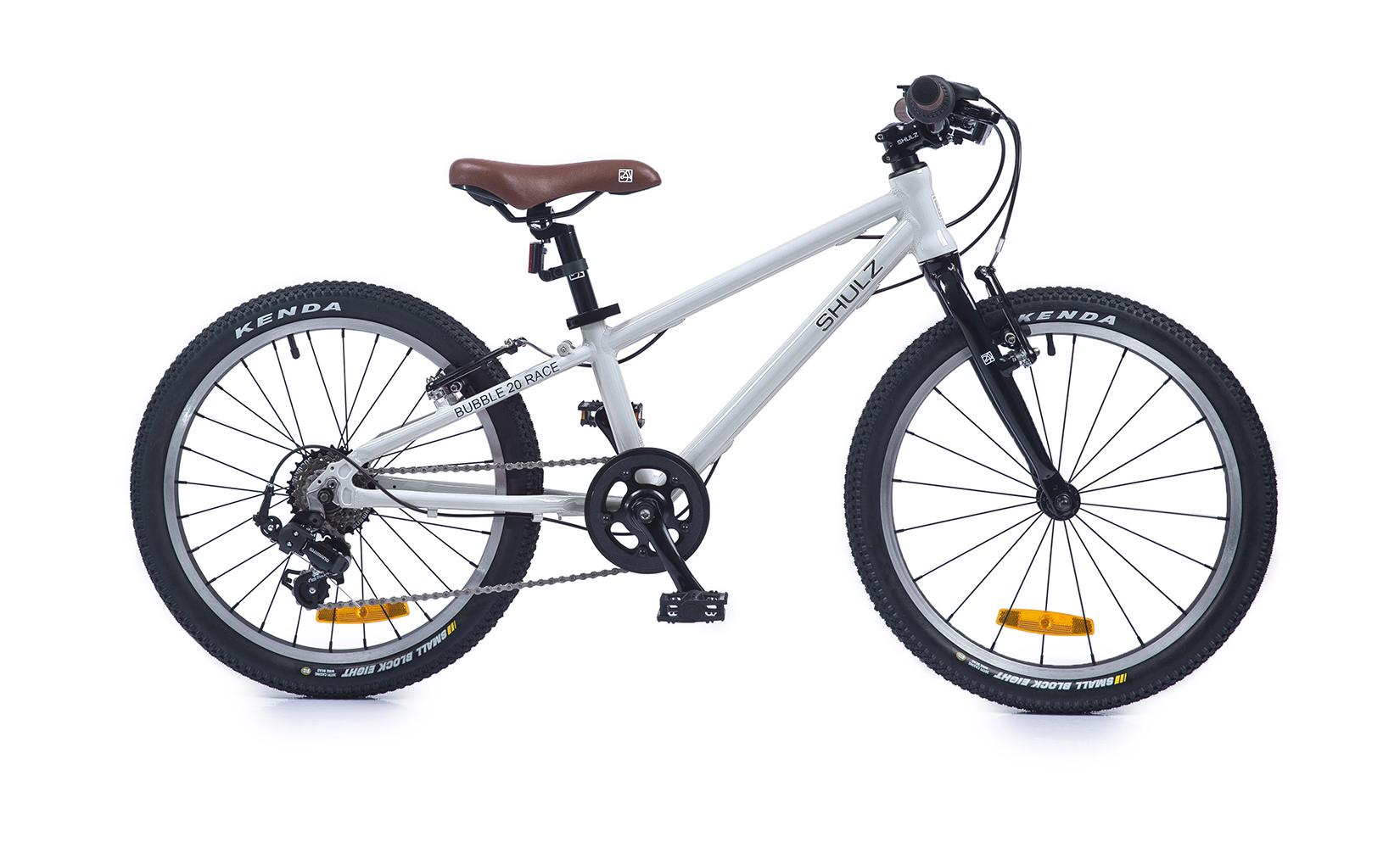 Купить Bubble 20 Race (2020) (One size), Детский велосипед Shulz Bubble 20 Race 2020 белый, Детские двухколесные велосипеды