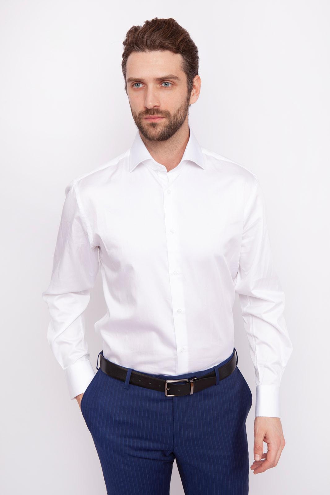 Рубашка мужская Kanzler 19S-SBL02RLSN/01 белая 39/62