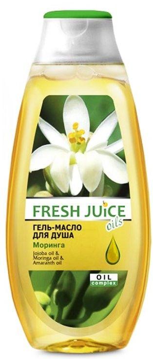 Гель масло для душа Fresh Juice Moringa