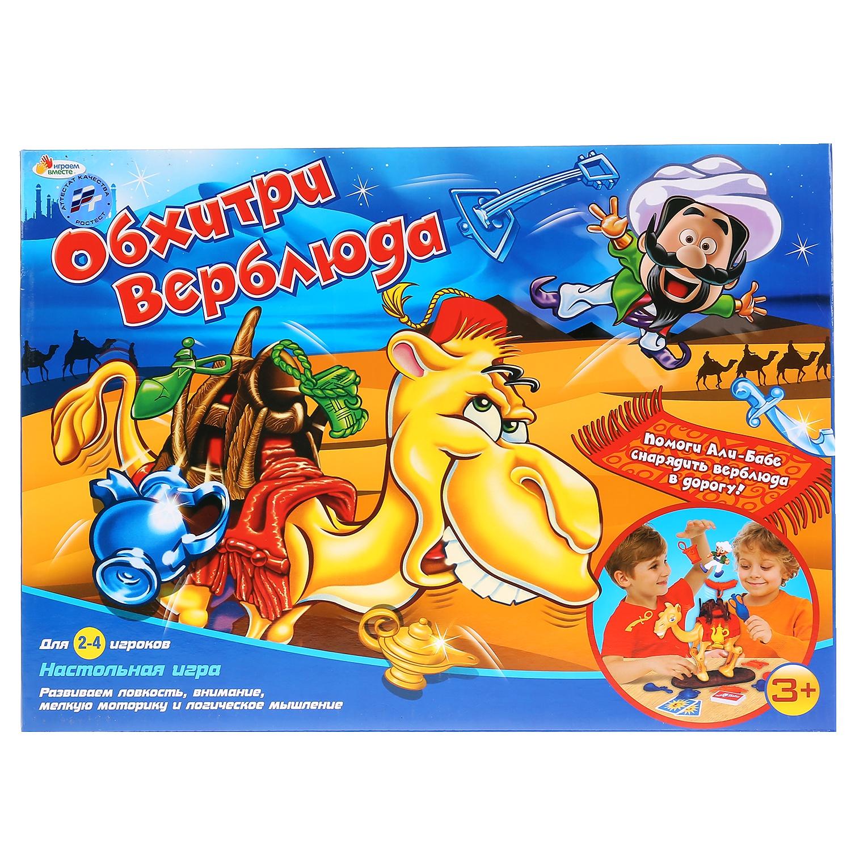 Купить Настольная игра Играем Вместе Логическая Обхитри Верблюда,