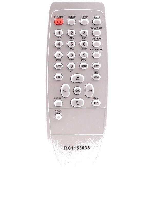 Пульт Huayu для Rolsen .Polar RC 1153038(RC1153012)