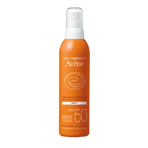 Солнцезащитный спрей для чувствительной кожи SPF