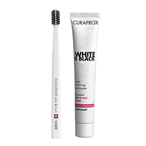 Купить Набор Curaprox Зубная паста отбеливающая 90 мл+Зубная щетка (мягкая)
