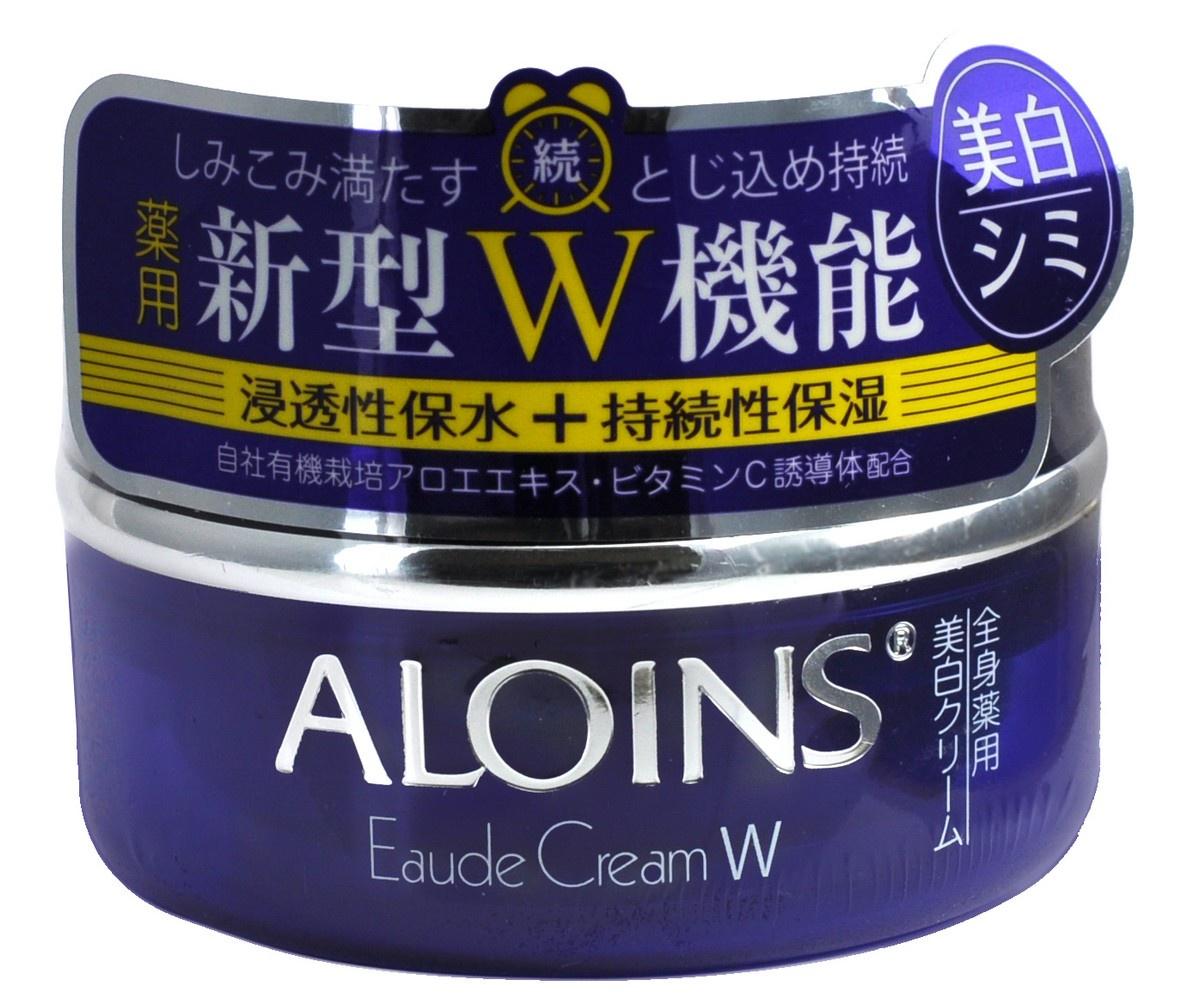 Увлажняющий крем для лица и тела Aloins с экстрактом алоэ и плацентой 120 гр.
