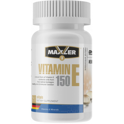 Maxler Vitamin E Natural form 150
