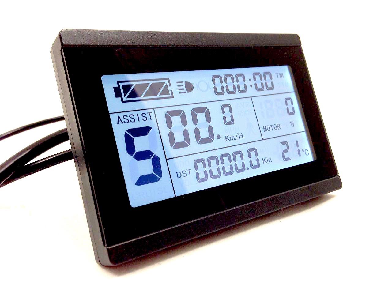 Панель управления LCD KT 3 горизонтальный 24-48 В для электровелосипеда