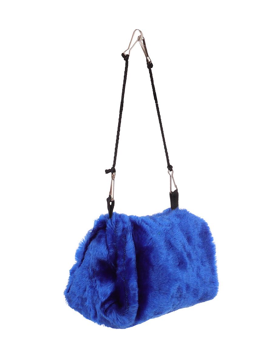 Домик для грызунов Монморанси Лежак пещера подвесной, синий, 9х12х16 см фото