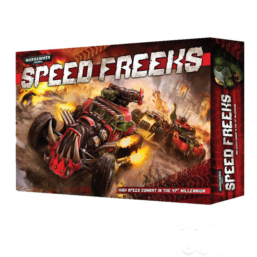 миниатюры warhammer 40000: speed freeks (на английском