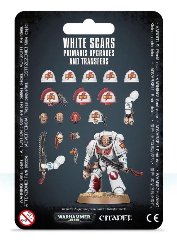 миниатюры warhammer 40000: white scar primaris upgrades