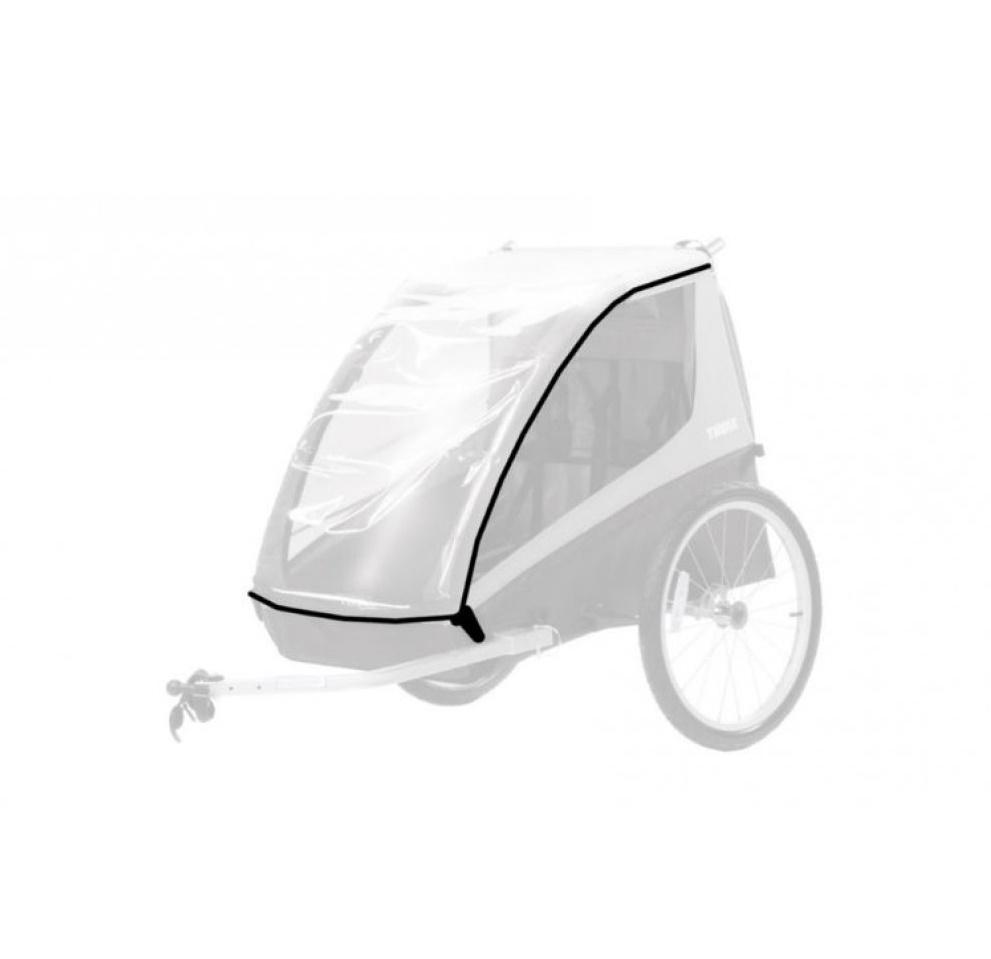 Дождевик THULE на детскую коляску Chariot Coaster