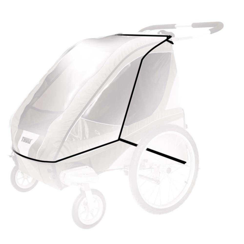 Дождевик THULE на детскую коляску Chariot Corsaire