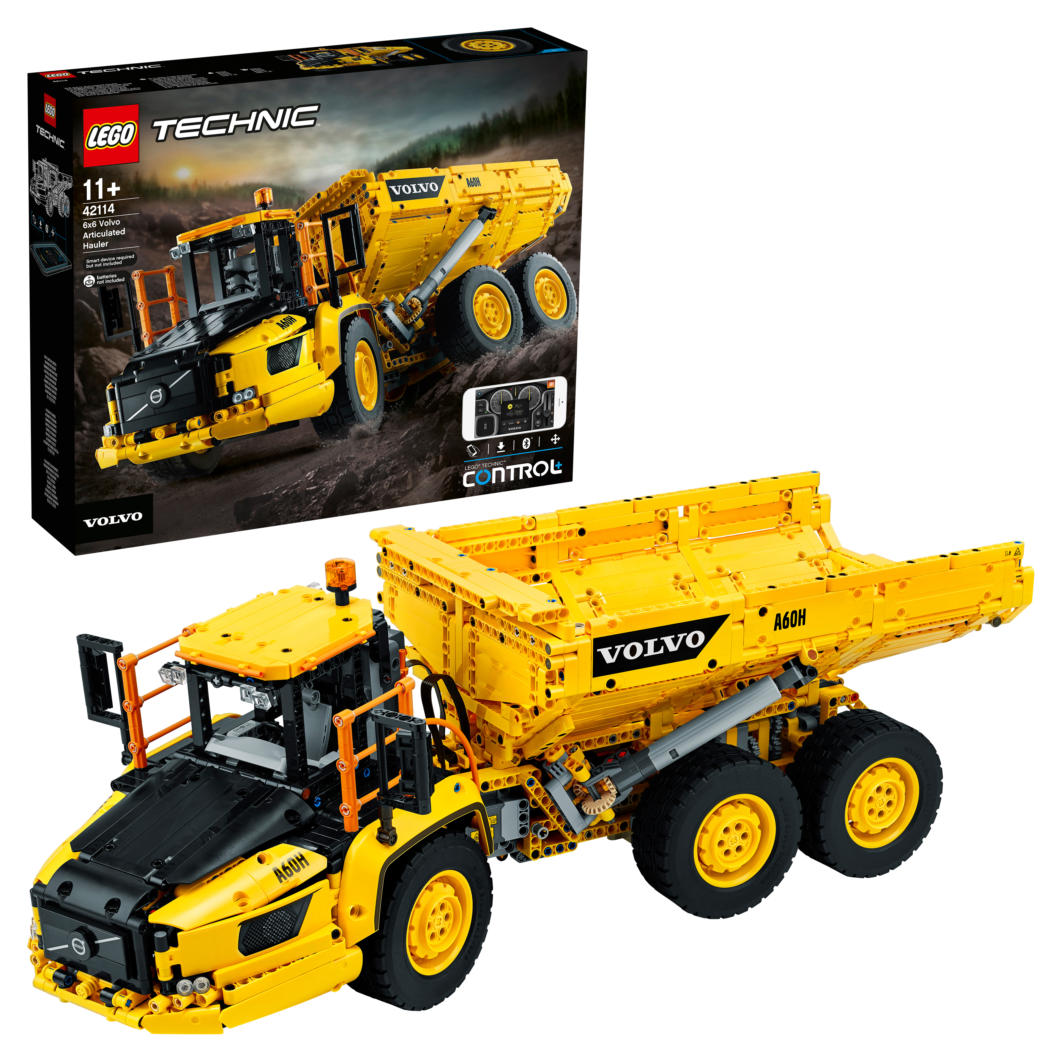 Конструктор LEGO Technic 42114 Самосвал Volvo 6х6