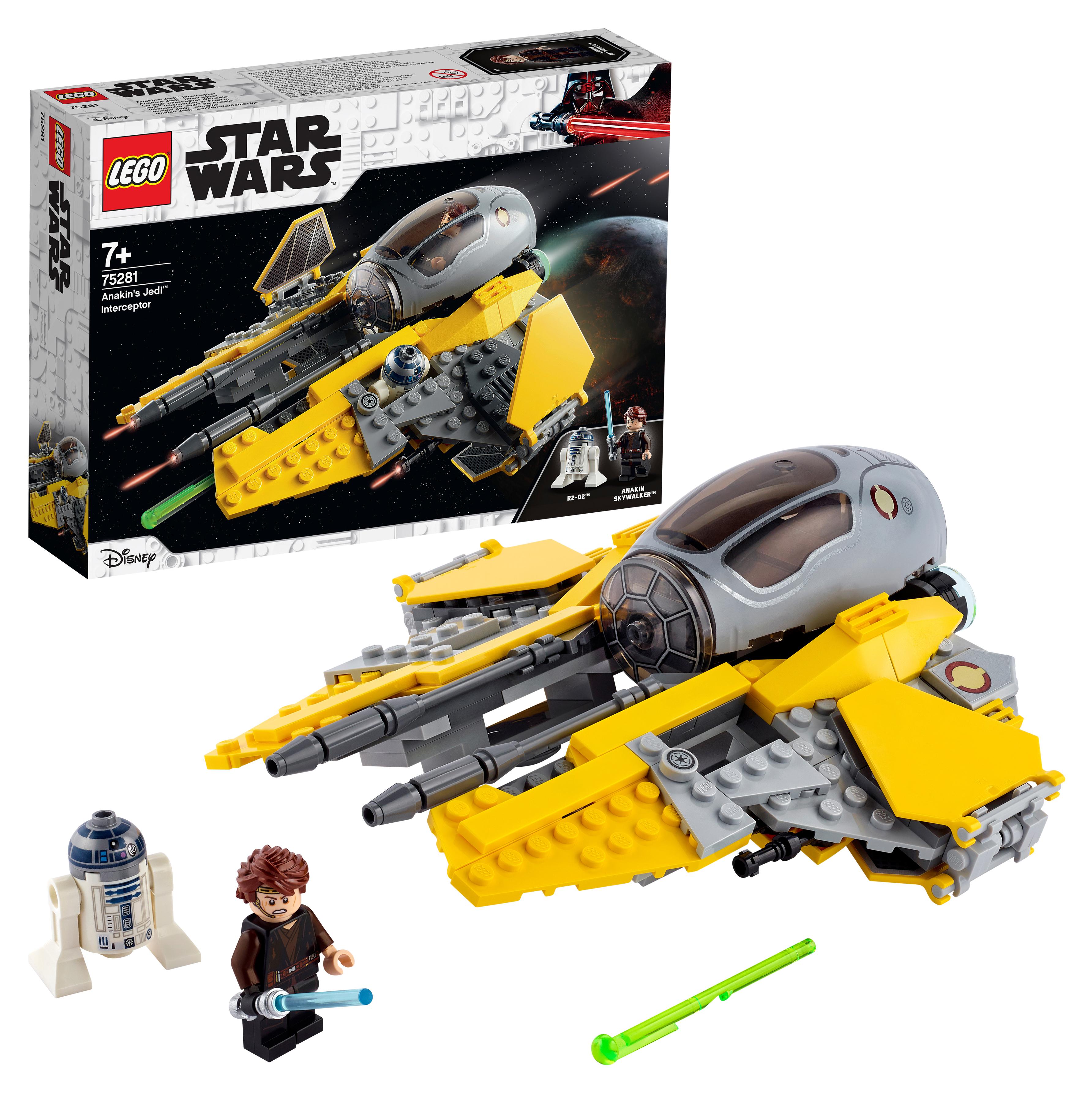 Купить Конструктор LEGO Star Wars 75281 Джедайский перехватчик Энакина,