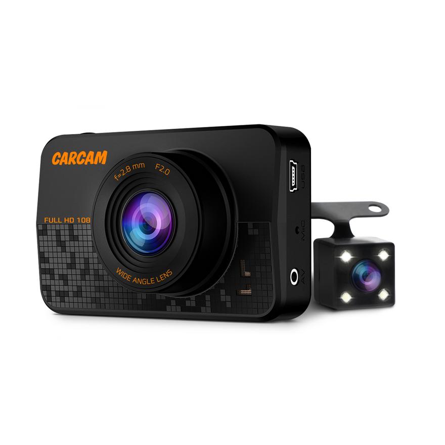 Автомобильный Full HD видеорегистратор CARCAM D1, 35128 фото