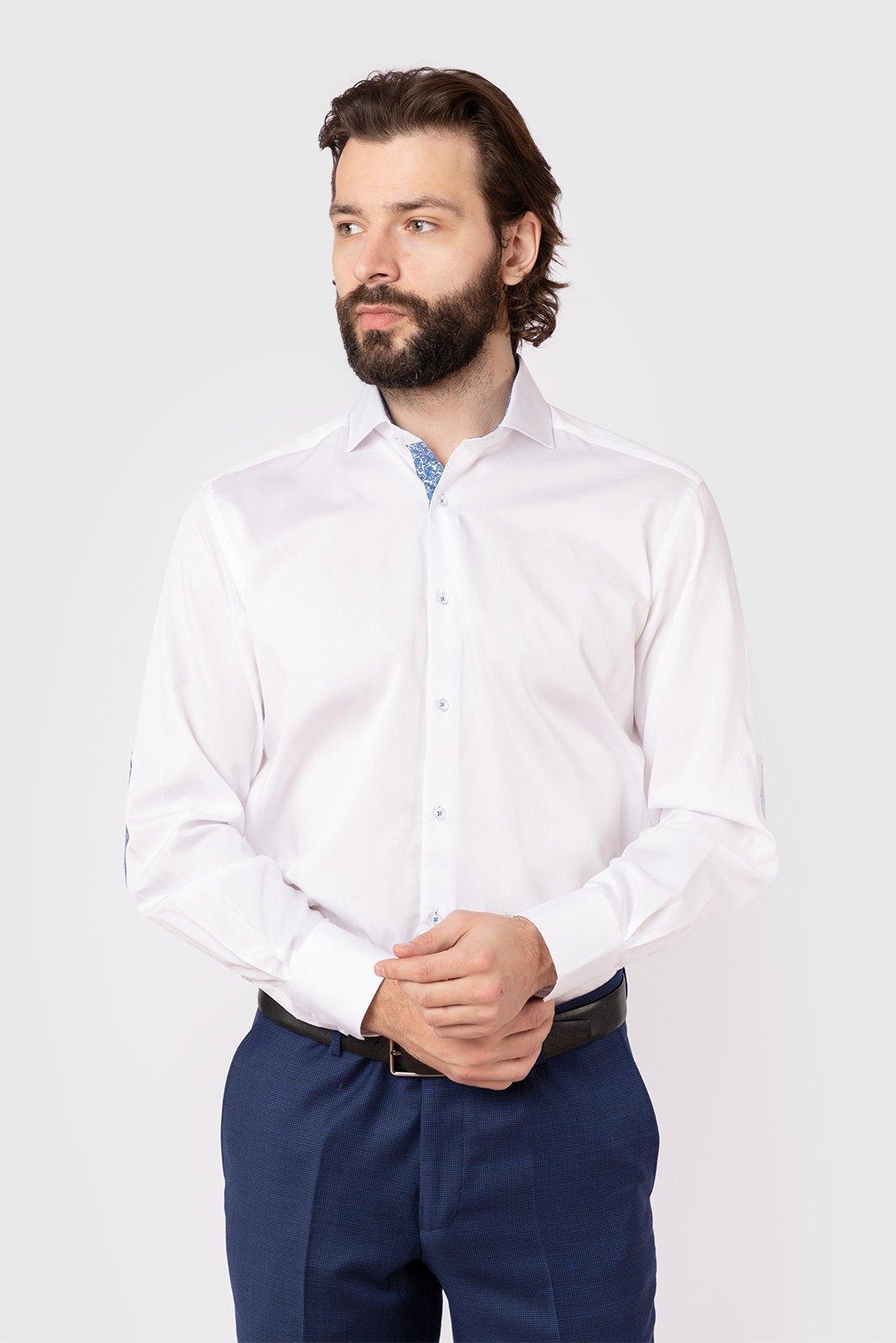 Рубашка мужская Kanzler 19S-SW02-RLSN/01-4 белая 44